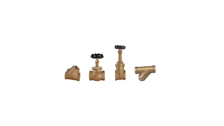 Industrial Bronze Gate, Globe And Check Valves
